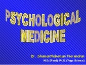 Psychological medicine.ppt