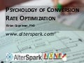 Psychology of Conversion Rate Optimization