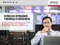 Overview of Hitachi Dynamic Tiering, Part 1 of 2