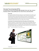 Personal Travel Assistant Fact Sheet