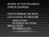 PTSD for Primary Care Providers und...