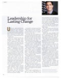 Leadership for Lasting Change - Andy Blumenthal