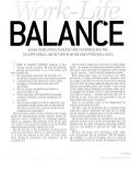 Work-Life Balance: The Disappearing Line - Andy Blumenthal