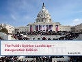 Public opinion landscape - 2nd Inauguration