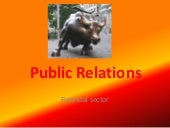 Overview of Public Relations for Financial Sector