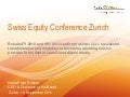 Publi groupe presentation swiss equity forum version 7 september 2011 presentation hpr_final