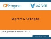 CloudOpen North America 2013: Vagra...