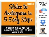Repurpose Your Slides on Instagram