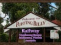 Puffing billy dandenong ranges-vic