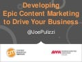 Epic Content Marketing to Drive Your B2B Business - BMA Colorado