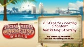6 Steps to Creating a Content Marketing Strategy - #SMMW15