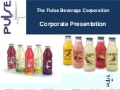 The Pulse Beverage Corp. video
