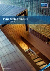 Pune office market snapshot 2013 re...