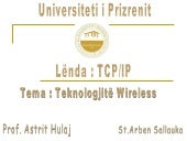 Punimi Seminarik ne lenden TCP/IP