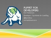 Puppet for developers
