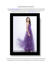 Purple Bridesmaid Dresses, Outfits, Gowns - BridesmaidDesigners