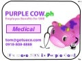 Purple cow 2012 (medical button)