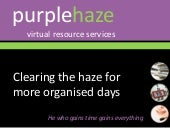 Purple Haze VA Services presentation