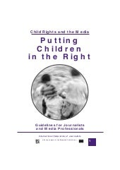 Putting Children in the Right