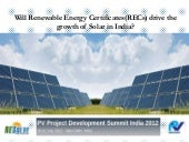 Will Renewable Energy Certificates(...