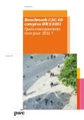Benchmark CAC 40 comptes IFRS 2011 : quels enseignements tirer pour 2012 ?