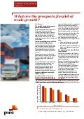 "Etude PwC France ""Global Economy Watch"" (oct. 2014)"