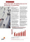 PwC Global Economy watch (mars 2014)