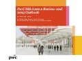 Etude PwC sur les fusions-acquisitions en Chine (2013)