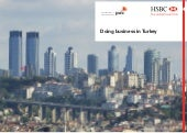 Pwc+hsbc doing business in_turkey 2011