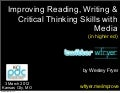 Improving Literacy with Media in Higher Education