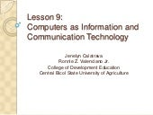 Computers as Information and Commun...
