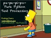 pa-pe-pi-po-pure Python Text Proces...