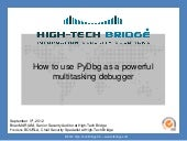 How to use PyDbg as a powerful mult...