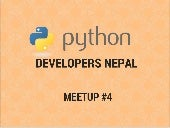 Overview of Python and its usage in Nepal