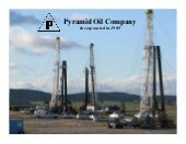 Pyramid Oil Co. video