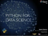 Python for Data Science - TDC 2015