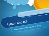 Python and the internet of things