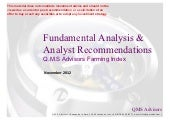 Q.M.S Advisors Proprietary Farming ...