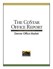 Denver Office Market Real Estate Stats