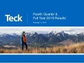 Teck Resources Limited video