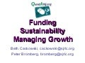 QandANJ.org: Funding, Sustainability and Managing Growth