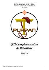 Qcm supplementaires biochimie_-_purpan