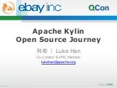 Apache Kylin Open Source Journey for QCon2015 Beijing