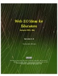 Web 2.0 Ideas for educators / Guía para RSS y más