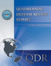 Quadrennial Defense Review February...