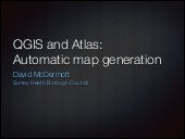 QGIS and Altas: Automatic map gener...