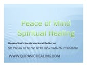 Qh  Peace Of Mind  Spiritual Healin...