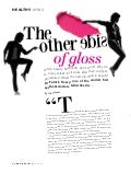 'The other side of gloss' by Clio Stevens