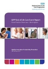 QIPP end of life care event report