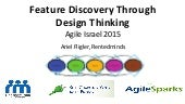 Feature discovery through Design Thinking - Ariel Fligler